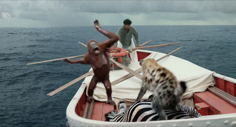 Differences between the book life of pi and its movie for Life of pi characters animals
