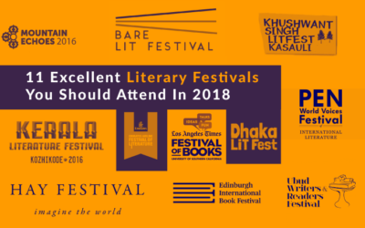 11 Excellent Literary Festivals You Should Attend In 2018