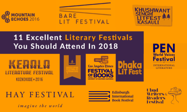#TCRcollection: 11 Excellent Literary Festivals You Should Attend In 2018
