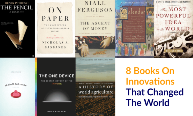 #TCRrack: 8 Books On Innovations That Shaped The World