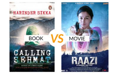 Book vs Movie: Calling Sehmat   Raazi