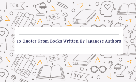 10 Quotes From Books Written By Japanese Authors