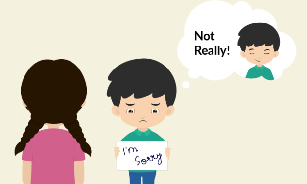 How To Teach Your Kids The Importance Of Saying Sorry