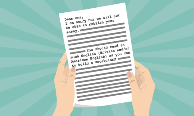 How A Rejection Letter Made Me A Better Writer
