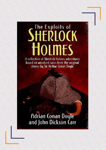 Sherlock Holmes pastiches