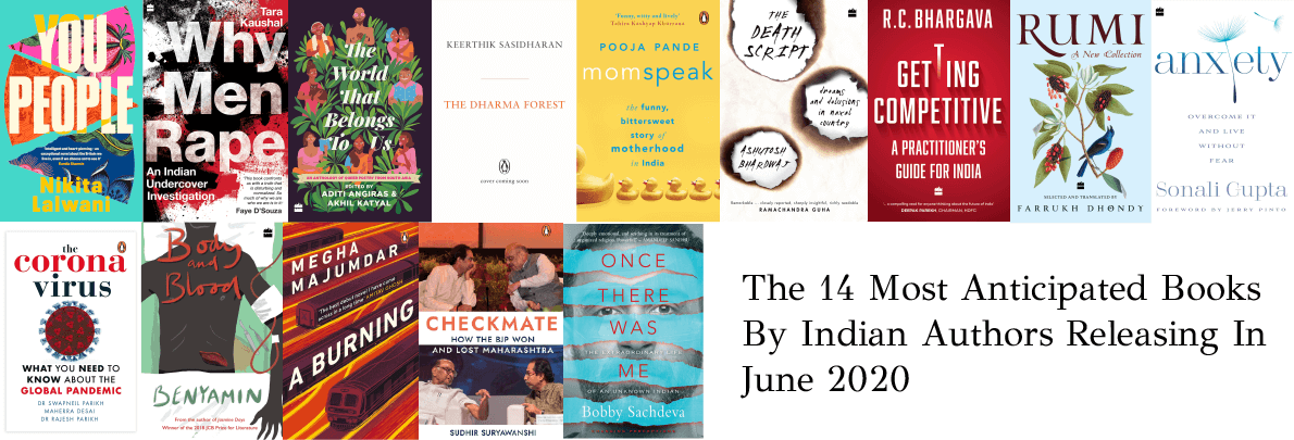 books by indian authors releasing in june 2020
