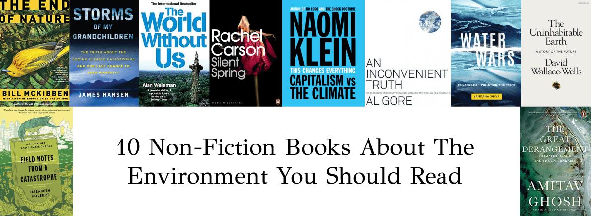 non-fiction books about environment
