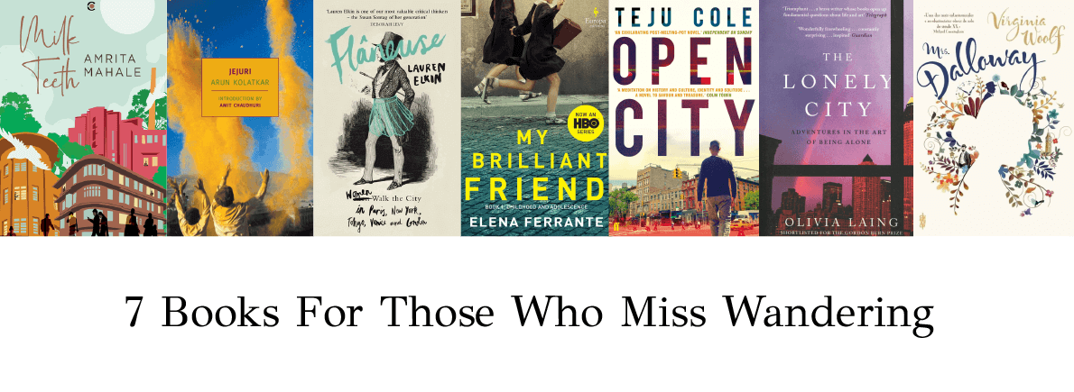 books for those who miss wandering