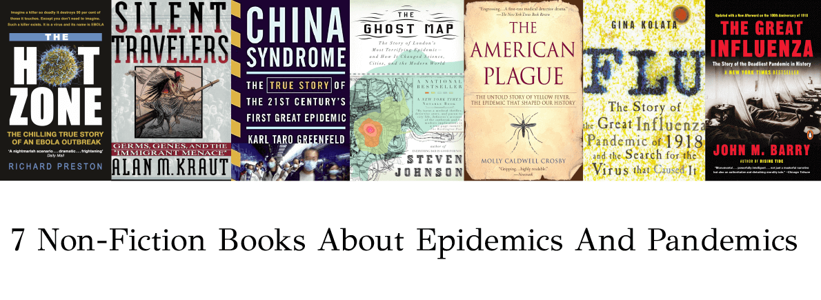Non-Fiction books about pandemics