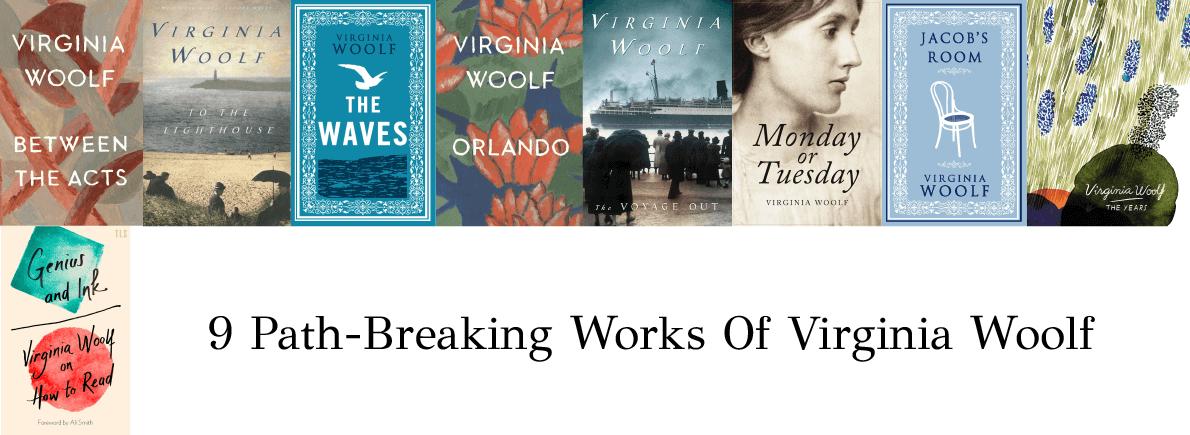 works of Virginia Woolf