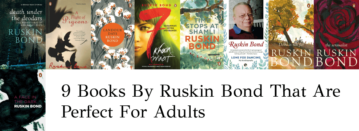 books by ruskin bond