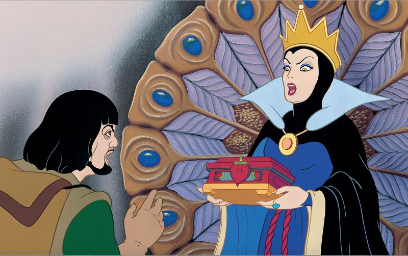 female villains in fairy tale