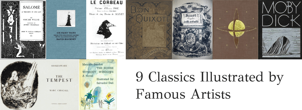 classics illustrated by famous artists
