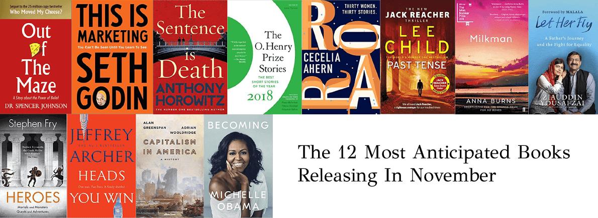 anticipated books November