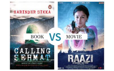 Book vs Movie: Calling Sehmat | Raazi