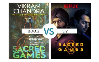 Book vs TV Show: Sacred Games