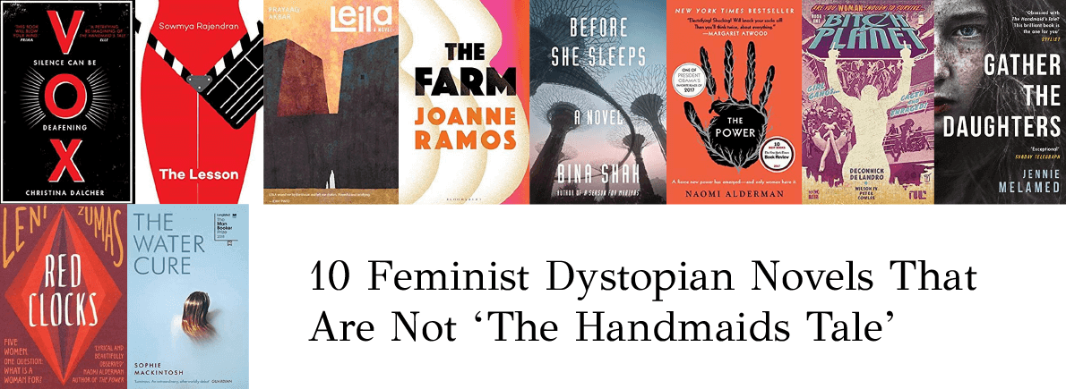 feminist dystopian novels