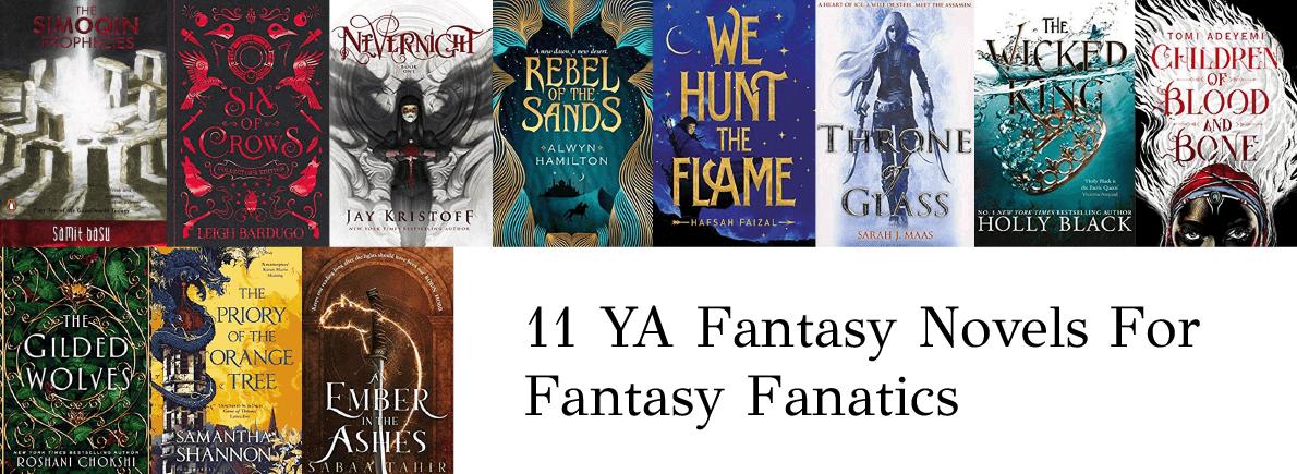 ya fantasy novels