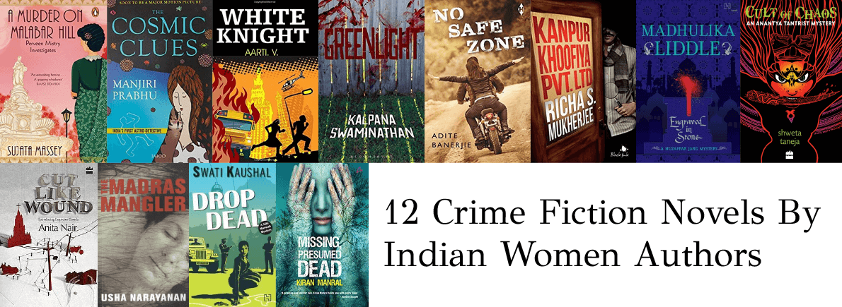 crime fiction by indian women authors