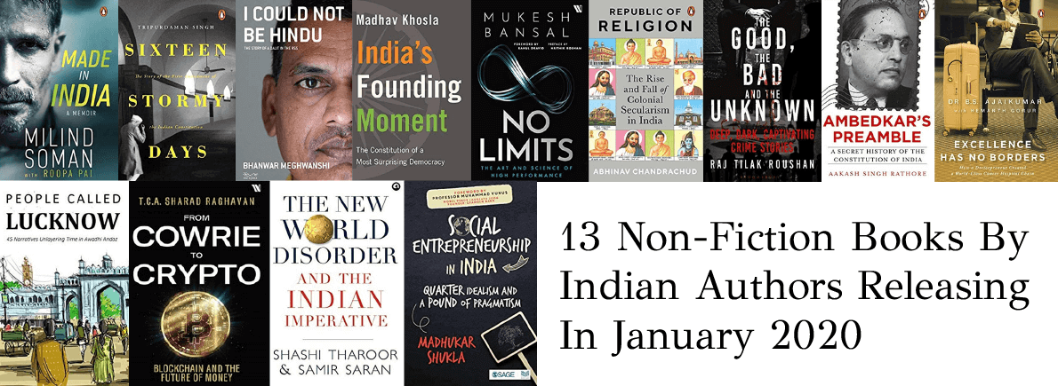 non-fiction by Indian authors january 2020