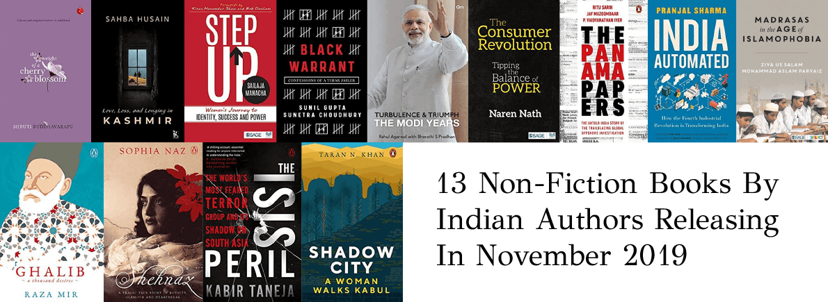 non-fiction books by Indian authors November 2019