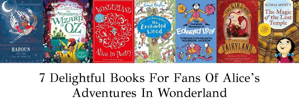 books for fans of alice in wonderland