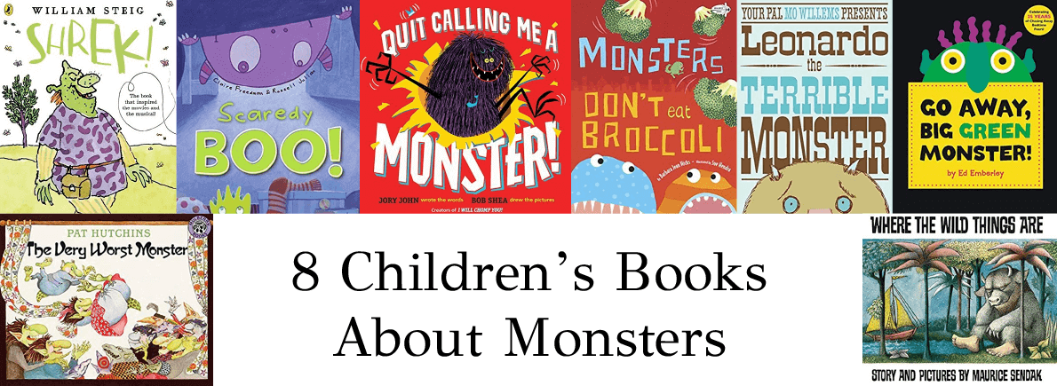 children's books about monsters