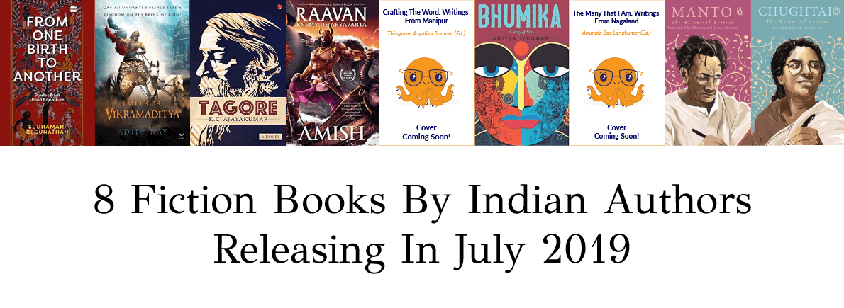 fiction by Indian authors July 2019