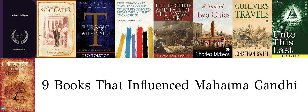 books that influenced Gandhi