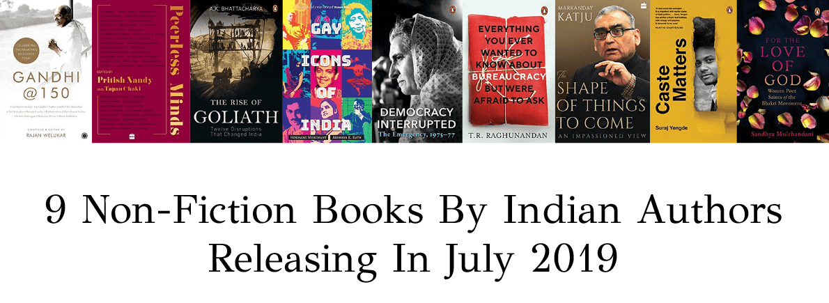 non-fiction books by Indian authors July 2019