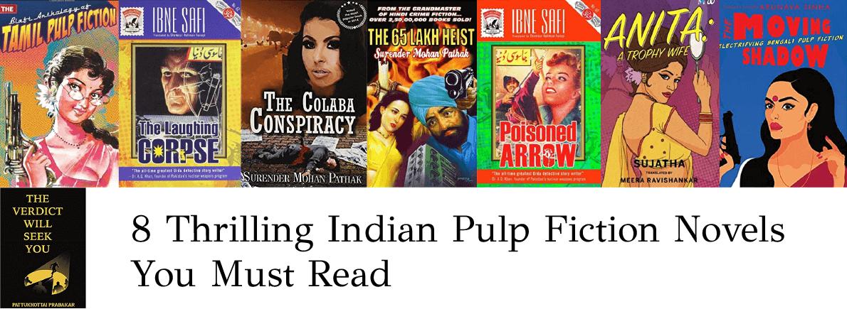 Indian pulp fiction novels