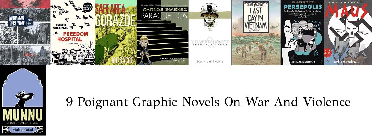 graphic novels on war