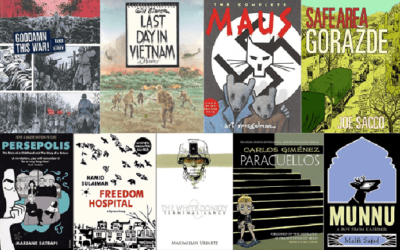 9 Poignant Graphic Novels On War And Violence