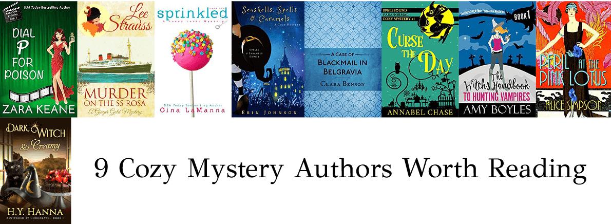 cozy mystery authors