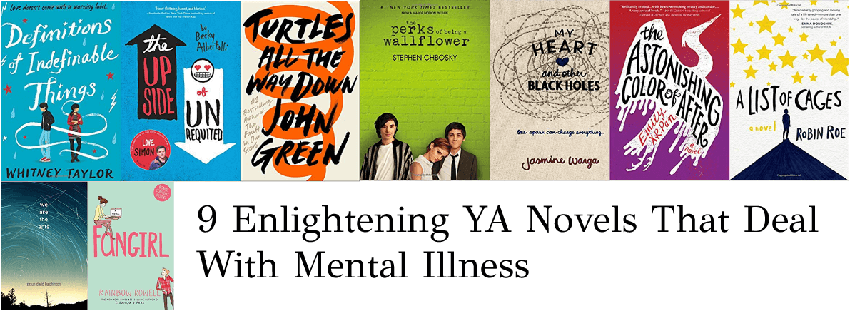 YA novels mental illness
