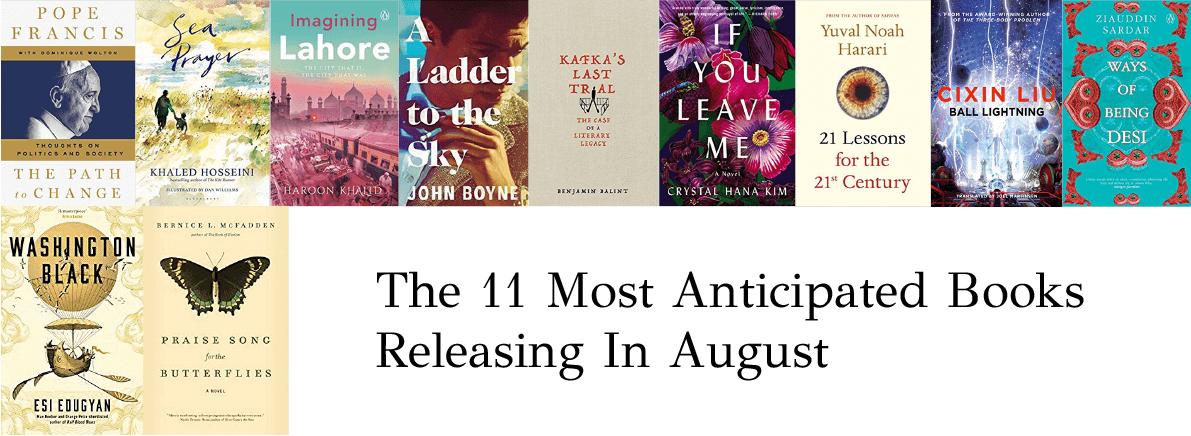 anticipated books August 2018