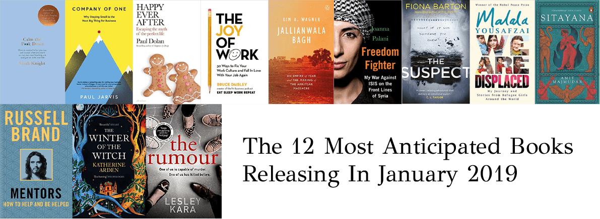 anticipated books January 2019