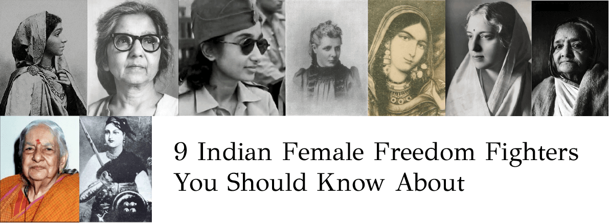 indian female freedom fighters