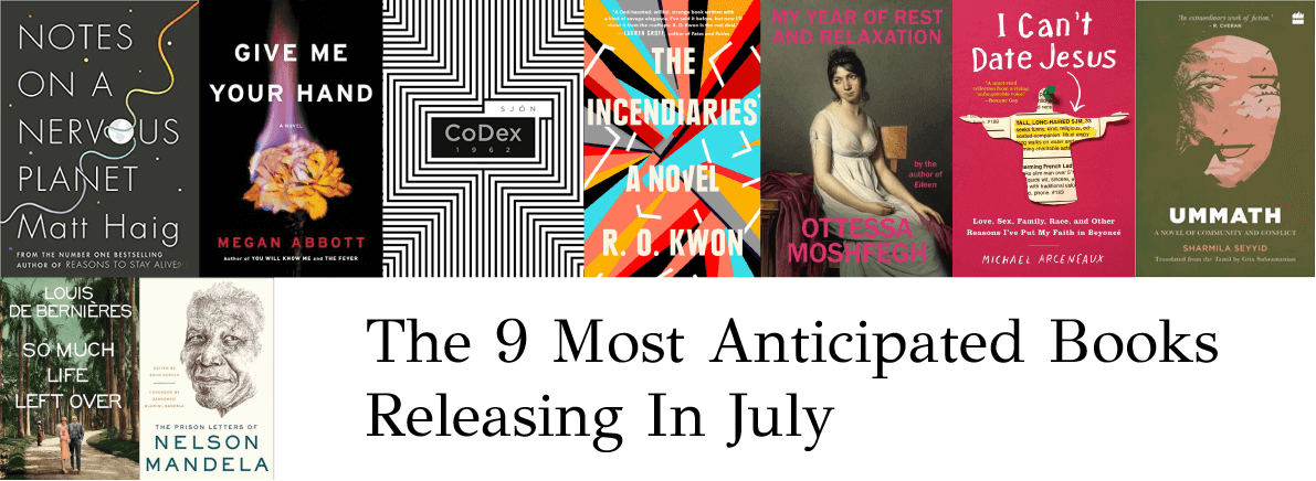 anticipated books July 2018
