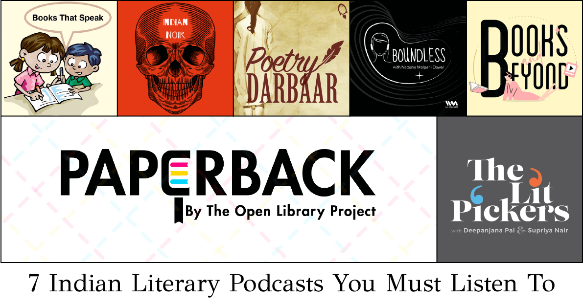 indian literary podcasts