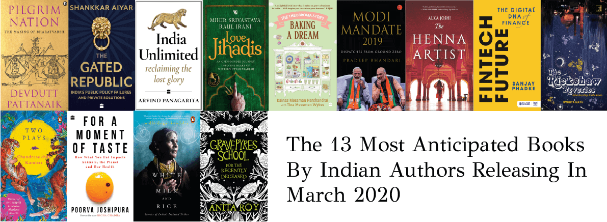 Anticipated Books By Indian Authors march 2020