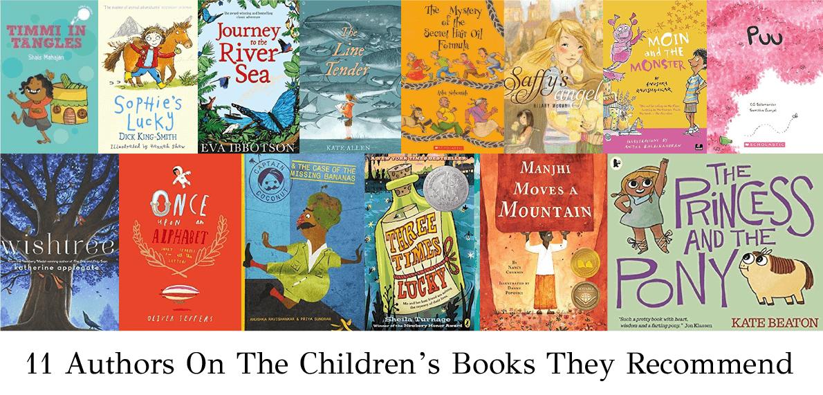 authors recommend children's books