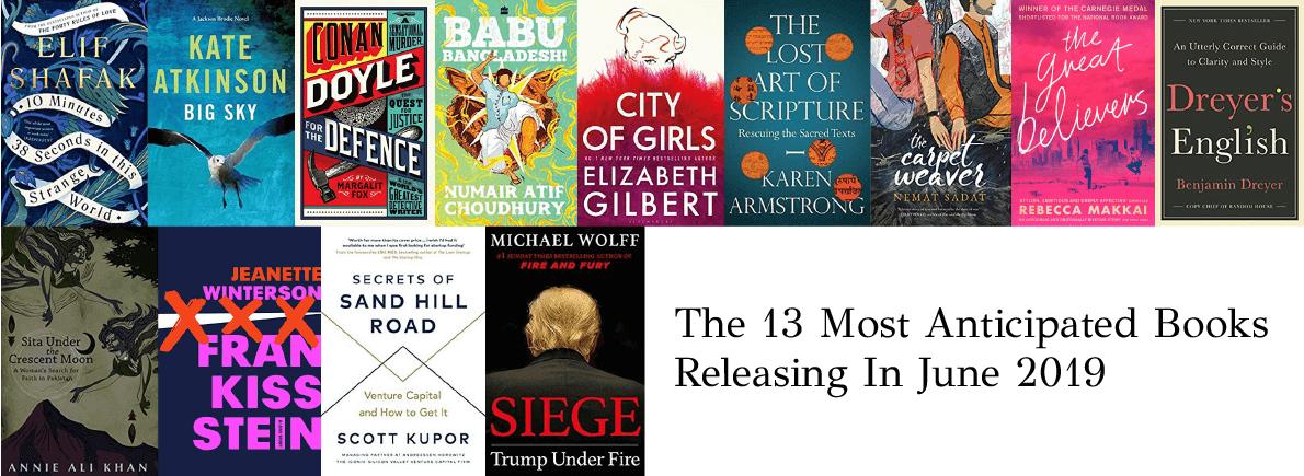 anticipated books June 2019