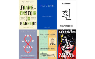 The 6 Books Short-Listed For The Man Booker International Prize 2018