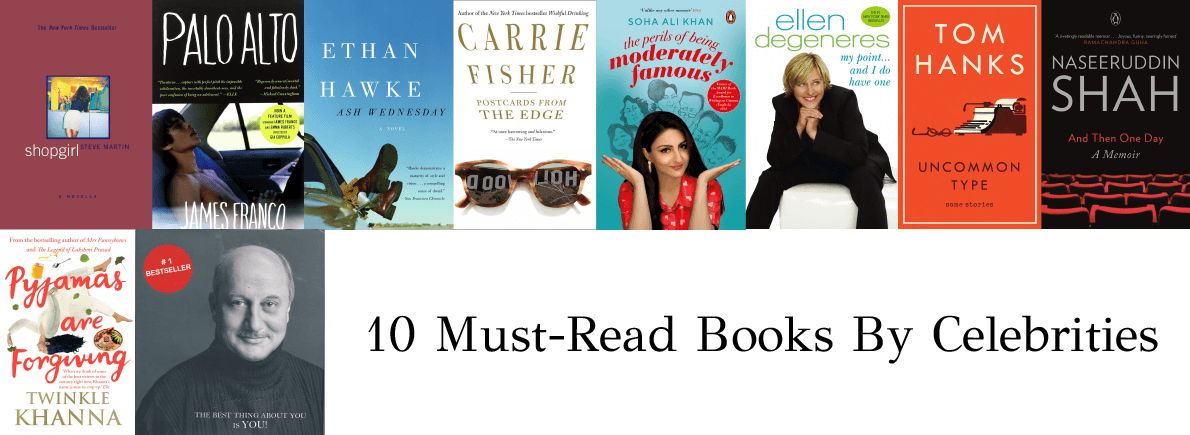 books by celebrities