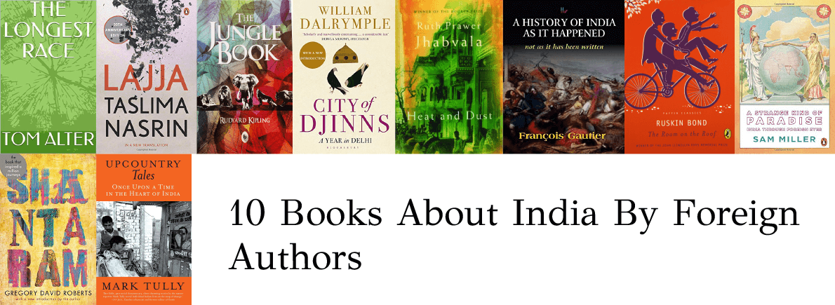 books about India by foreign authors