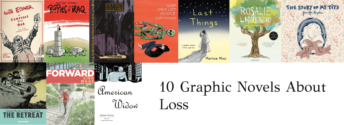 graphic novels about loss