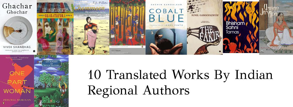 Indian regional authors