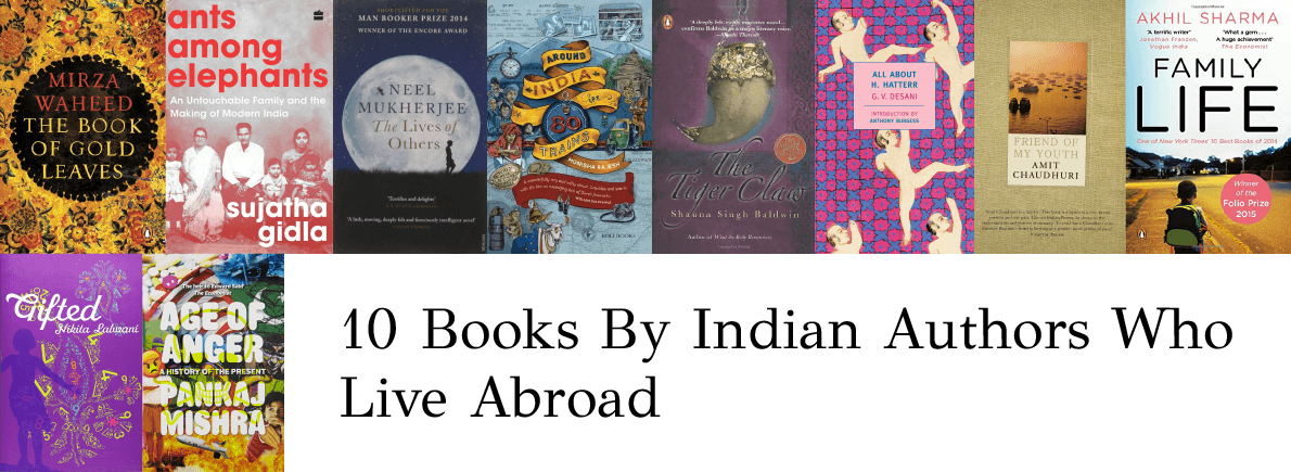 books by indian authors living abroad