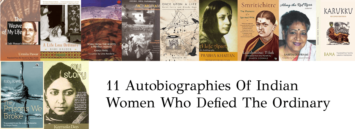 Autobiographies Of Indian Women